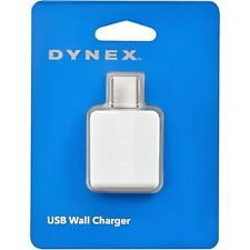 Brand New GREEN Dynex USB Wall Charger AC Adapter 5W / 1amp Output Apple Android