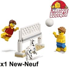 Lego - Figurine Minifig chien dog joueur volley ball cty759 cty760 60153 NEUF