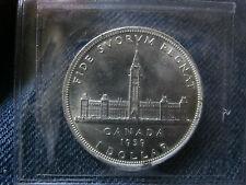 Canada 1939 Silver Dollar,  ICCS MS-64