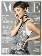 Magazine - Fashion - Vogue January 2016 - Alicia Vikander - Female Viagra