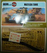 MAQUETTE AIRFIX .1/76 - 00. BRITISH ARMY MATILDA TANK MKIII 4e RTR AFRICA. WWII