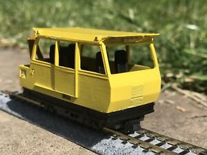 009 NATS Wickham Inspection car for KATO 109 - OO9 as used on the Manx Railway