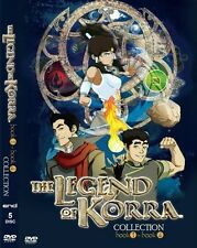 DVD Avatar: The Legend Of Korra (Book / Season 1-  4) Complete Tv Series