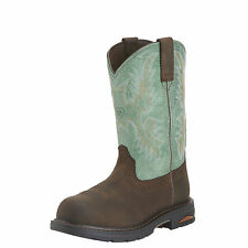 Ariat 10015405 Womens Waterproof Tracey Pull-On WP Work Boot - Composite Toe