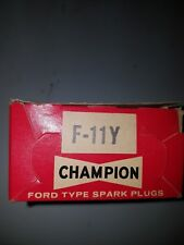 Champion Spark Plugs F11Y NOS F-11Y set of 10 Rare
