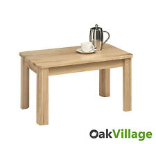 Solid Oak Coffee Table / Living Room Table / Modern Side Table / Brand New Soho