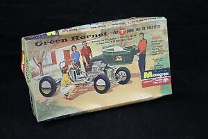 """MONOGRAM Green Hornet Ford """"T"""" Show Car Model Kit 1:24? Scale Open Box NICE"""