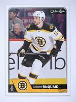 2016-17 O-Pee-Chee #120 Adam McQuaid - NM-MT