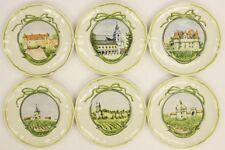 Set of 6 Lonchamp Chateau Dishes