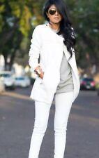 Zara veste biker perfecto blanc Simili cuir M