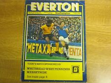 October 7th 1978, EVERTON v SOUTHAMPTON, Dave Thomas, Billy Wright, Andy King.