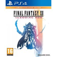 Final Fantasy XII Zodiac Age Steelbook PlayStation 4 Ps4 Game VGC