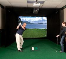 Par T Golf Simulator Used DE1100 Indoor Golf Simulator