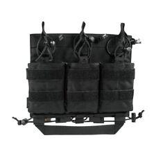 Tasmanian Tiger Carrier Mag Panel M4 schwarz taktische Magazintasche Molle schwa