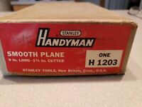 STANLEY H1203 HANDYMAN SMOOTH PLANE EXCELLENT IN BOX