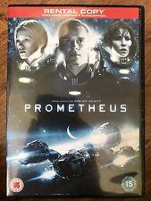 Noomi Rapace PROMETHEUS ~ 2012 Ridley Scott Alien Sequel   UK Rental DVD