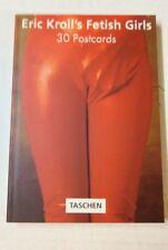 30 cartes postales détachables Éric Kroll's  Fetish girls nu érotiques vintage