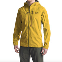 $600 Mountain Hardwear Mens Seraction Jacket sizes S M Ice & Rock Climbing Shell