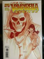 Vampirella Strikes # 2 Blood Red Variant ONLY 100 copies made Dynamic Forces COA