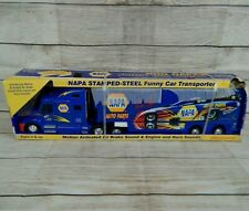 Ron Capps NAPA Stamped-Steel Funny Car Transporter 2008 Tractor Trailer Truck