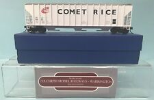 KIT BUILT 'HO' GAUGE USLX 20983 COMET RICE 54' COVERED HOPPER WAGON BOXED