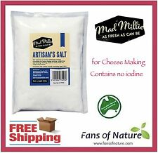 Cheese Salt 450g by Mad Millie, No Iodine: Cheese / Sausage Making, Preserving