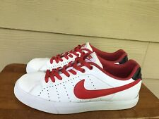 Nike Court Tour 458673-119 Men's Athletic Sneakers Shoes White Red Size 10
