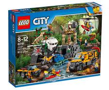 LEGO CITY JUNGLA: AREA DE EXPLORACION SET 60161 NUEVO