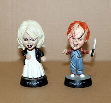 1998 Bride of Chucky & Tiffany Little Big cara mini figuras personaje Sideshow