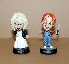 1998 Bride of Chucky & Tiffany Little Big cara mini figuras personaje Sideshow