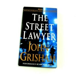 The Street Lawyer John Grisham Michael Beck Audiobook Audio Book Cassette Tapes