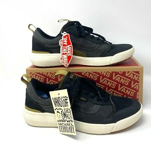 VANS Ultrarange Exo Se Grey Black Suede Men's Sneakers  VN0A4UWM22M