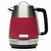 Haden Chiltern Berry Kettle Retro 1.7L 3000W Stainless Steel 1 Year Guarantee