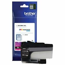 Brother Genuine LC3033BK Single Pack Super High-yield Black INKvestment Tank Ink