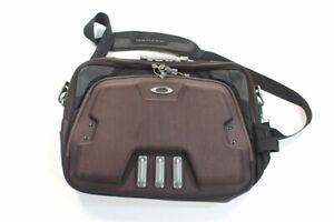 Oakley Tactical Laptop Red Code Messenger Bag Briefcase Black Canvas Office Bag