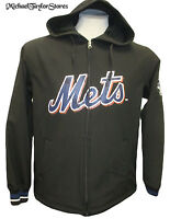 New York Mets MLB Men's Full-Zip Hooded Therma Base Jacket