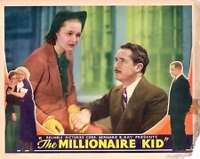"Betty Compson Bryant Washburn The Millionaire Kid 1936 11x14"" Lobby Card LC242"