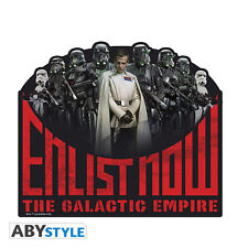 Star Wars Rogue One Enlist Now The Galactic Empire Mousepad IT IMPORT ABYSTYLE