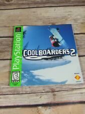 Cool boarders 2 (gamebooklet,playstation)