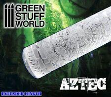 Rolling Pin - AZTEC Texture - Warhammer Bases, Lizards, Green Stuff 40K ...