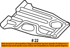 Jeep CHRYSLER OEM 09-10 Commander Front Suspension-Skid Plate 82208713