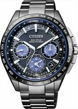 CITIZEN ATTESA Men's watch F900 Eco-drive Solar GPS Satellite Wave CC9017-59L