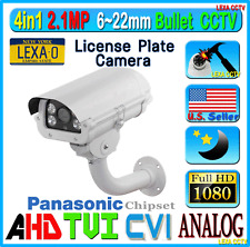 LexaCCTV 4in1 1080P 2.4MP License Plate Long Range CCTV Security Camera AHD TVI