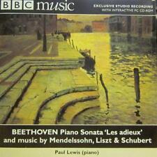 Beethoven(CD Album)Piano Sonata Les Adieux-BBC-New