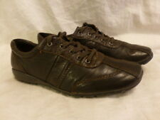 EASY SPIRIT AFTER YOUT BROWN SNAKESKIN FLAT OXFORDS CASUAL WOMENS SHOES 9N $134