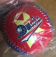 Long Island Ducks SGA Sealed Baseball Support Our Troops Northrop Grumman Ball