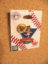 2007 Pittsburgh Pirates Baby New Year's lapel pin