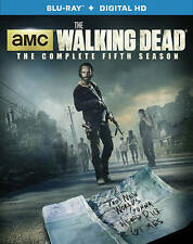 The Walking Dead: Season 5 (Blu-ray Disc, 2015, 5-Disc Set, New, Free Shipping