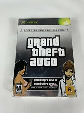 Grand Theft Auto Double Pack (Microsoft Xbox, 2003) Brand New - Factory Sealed!