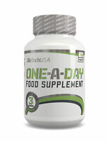 BIOTECH USA ONE A DAY 100 Tabs COMPLETE MULTIVITAMIN FORMULA VITAMINS MINERAL